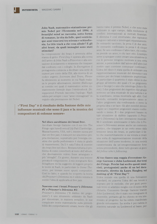 jazzit 004 Published in Jazzit Magazine